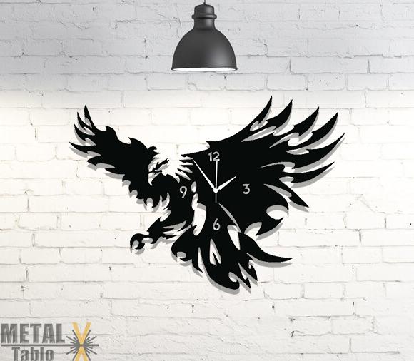 Beşiktaş Kartal Metal Lazer Kesim Saat